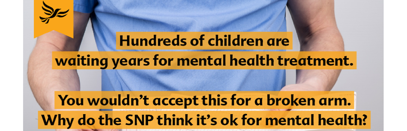 Scottish Lib Dems back NHS Mental Health