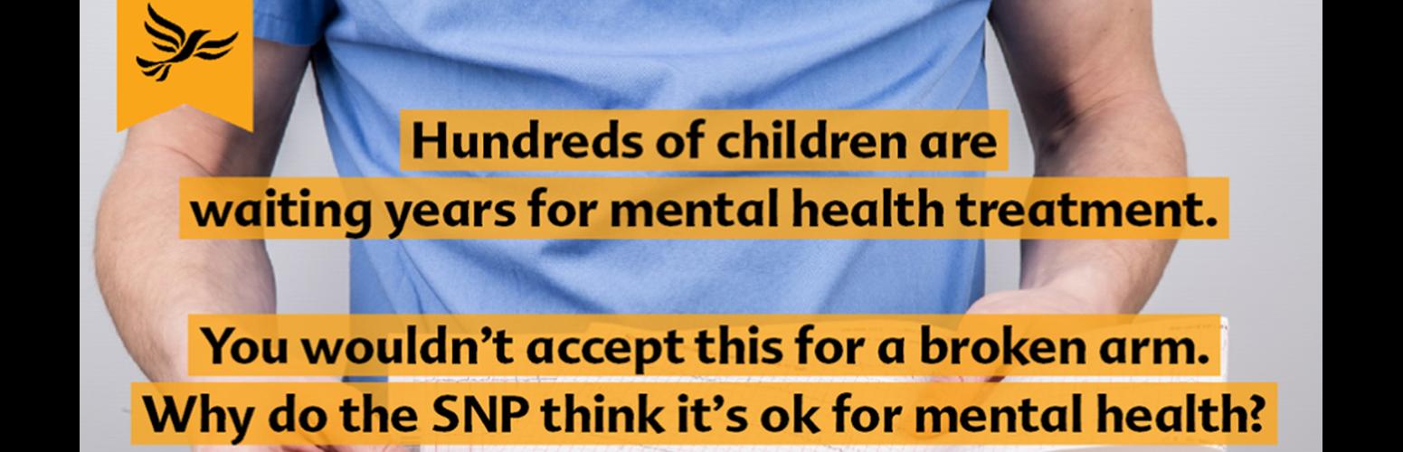 Scottish Lib Dems back NHS Mental Health