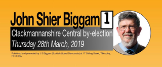 John Biggam - Central Clacks by-election 28 March