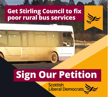 Stirling poor rural bus services
