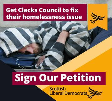 Clacks Homelessness