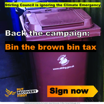 Stirling Council - Brown Bin Charge